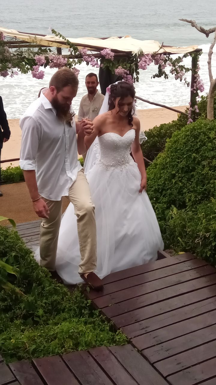 LINDI AND JACK JUST MARRIED